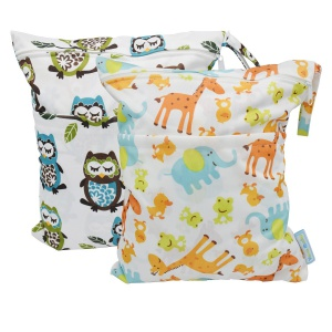 Yarra MOdes 2 pcs BAby Wet and Dry Cloth Diaper Bags