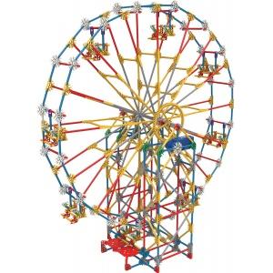 K'NEX Thrill Rides 3 in 1 Classic Amusement Park Building Set